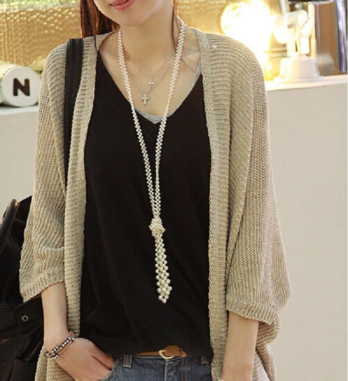 (Pre Order ETA 31/5) JYS Fashion Korean Style Women Knit Cardigan Collection 545 - 7222