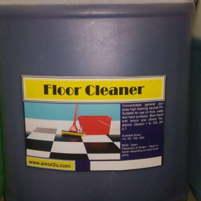 1 drum of 10 liter lavender fragrance floor cleaner