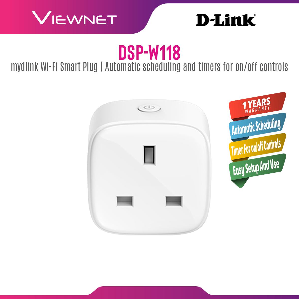 D-Link DSP-W118 mydlink Mini Wi-Fi Smart Plug DSP W118