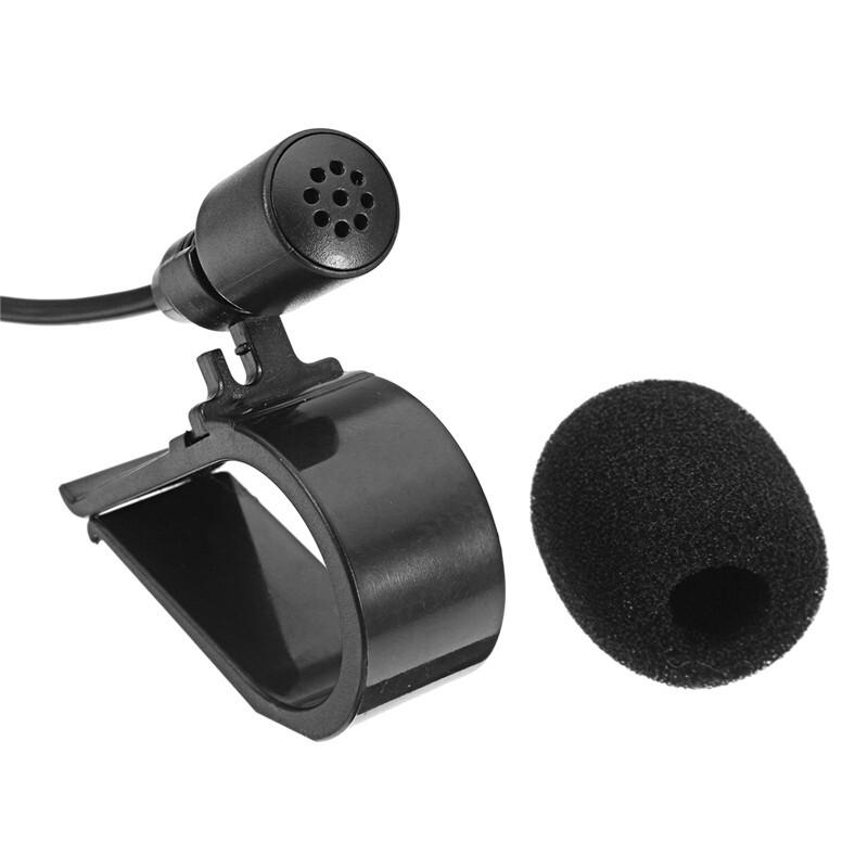 Car Electronics - 3.5mm Clip MINI Reduction Microphone Studio Speech Lecture Microphone with Clip - Automotive