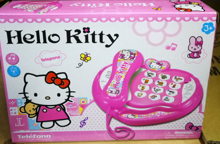Kids Toy - Hello Kitty Intelligence Learning Phone baby toys