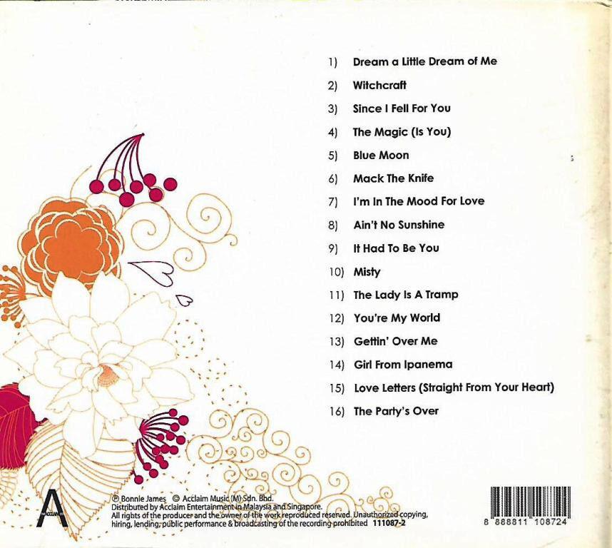 Bonnie James - A Jazzy Tribute CD Jazz Music