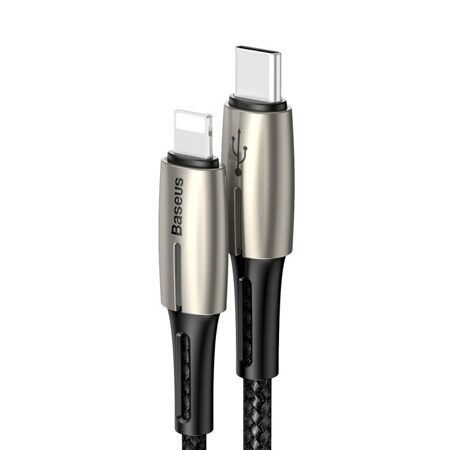 Baseus (CATLRD-01) Type-c to 8 Pin Cable 1.3M Black