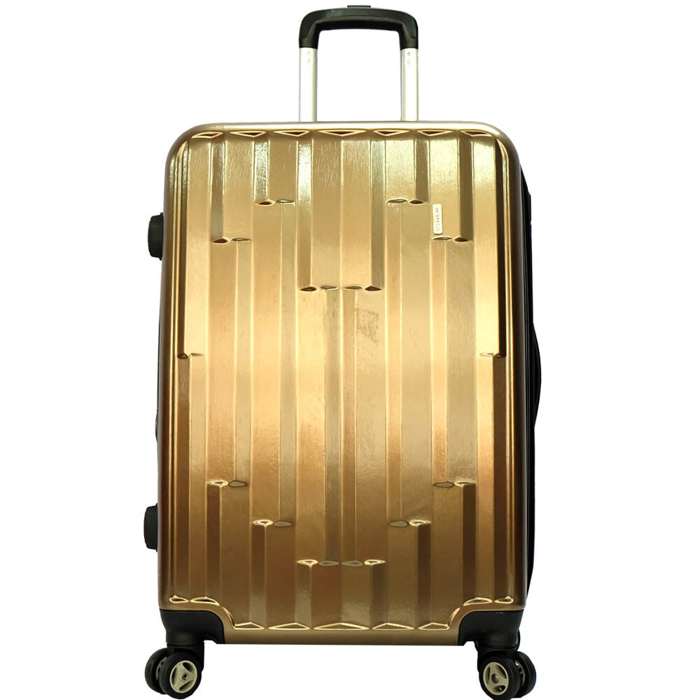 Waterpolo WA1681- 20 inch 4W Anti-theft Polycarbonote (PC) Hard Cases Trolley