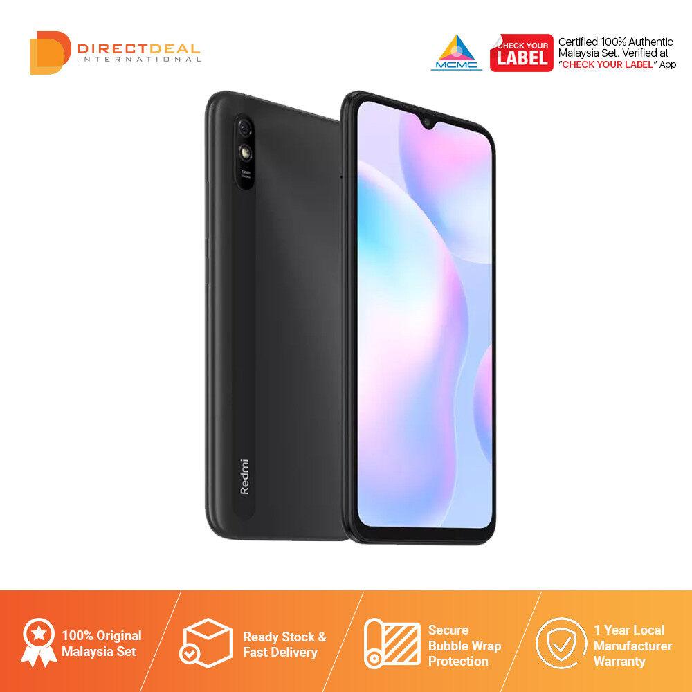 Xiaomi Redmi 9A 2GB+32GB Smartphone - 1 Year Warranty By Xiaomi Malaysia (MY SET)