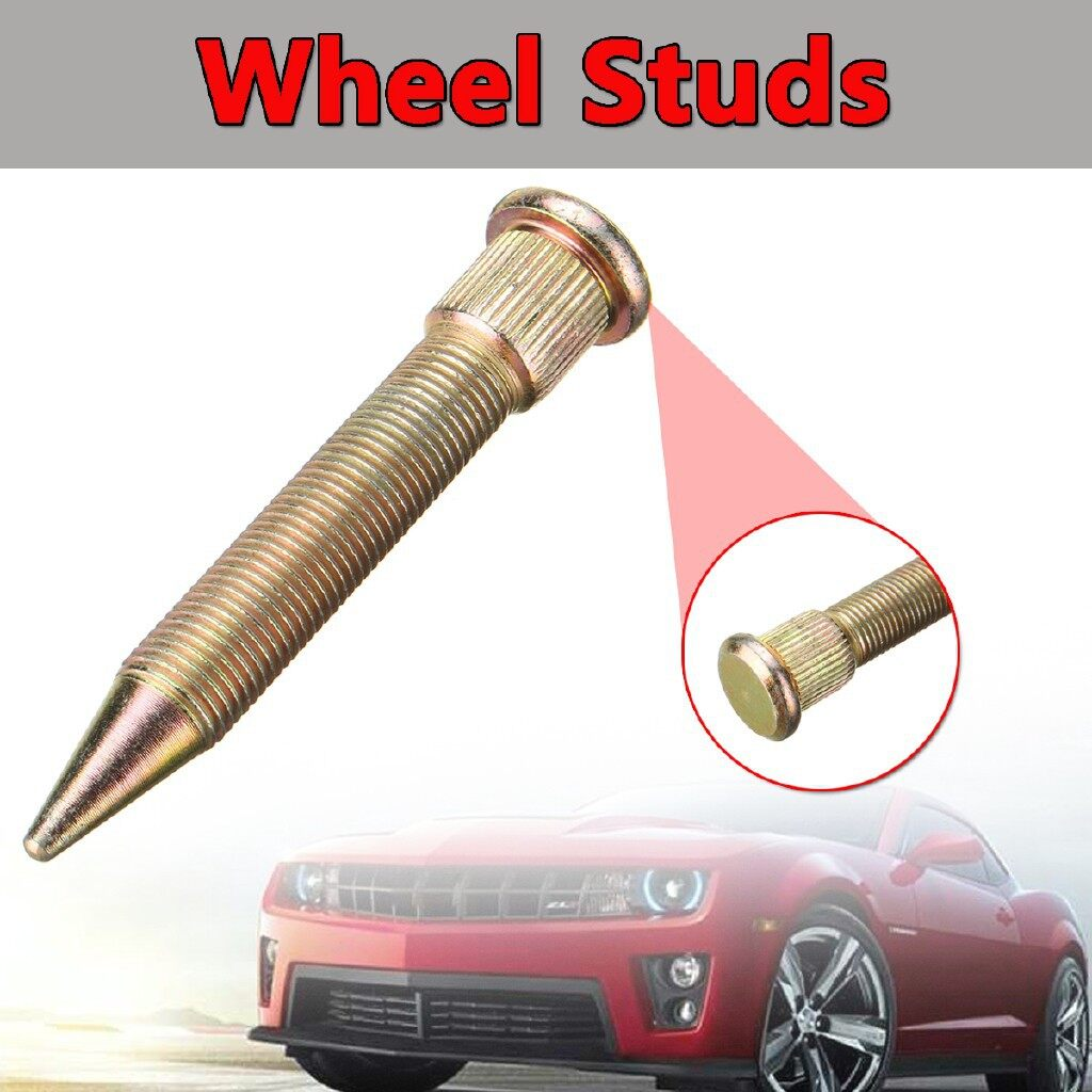 Automotive Tools & Equipment - 10/50 PIECE(s) M12X1.25 Universal Car Wheel Studs Bolts Extended Dracing Spiked - Car Replacement Parts