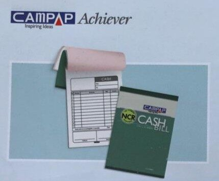 "CAMPAP CA6840 90x126mm 2ply x 30 NCR BILL BOOK without ""RM"" x 10pcs"