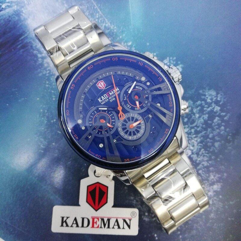 New Arrival Special Promotion ORIGINAL KADEMAN Japan Enjin Water Proof Men Fashion Watch