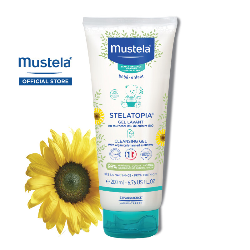 MUSTELA Stelatopia Cleansing Gel for Extremely Dry Skin (200ml)