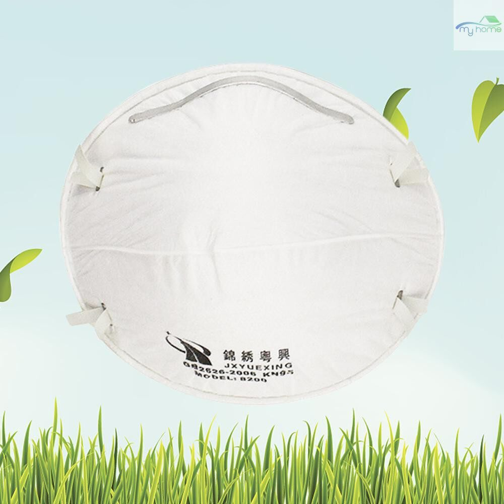 Protective Clothing & Equipment - 20 PIECE(s) 8200 Particulate Respirator N95 Dust Mask Against PM2.5 for Industrial Dust - WHITE