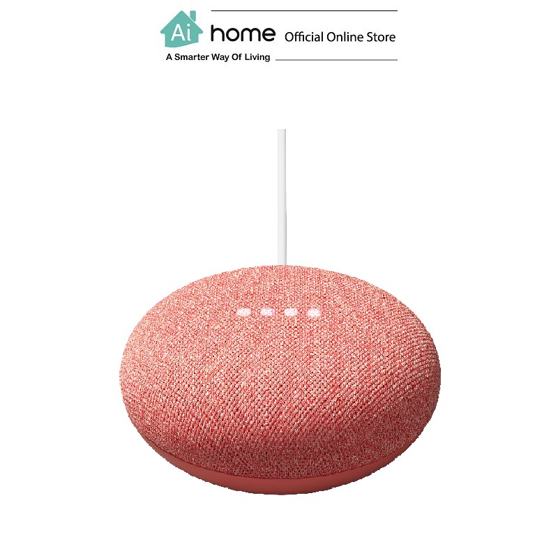 GOOGLE NEST Mini 2nd Generation [ Smart Speaker ] Build in Google Assistant with 1 Year Malaysia Warranty [ Ai Home ] GN2CO