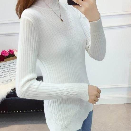(Pre Order14 Days JYS Fashion Korean Style Women Knit TopCollection526-2755col525a-2755--White -L