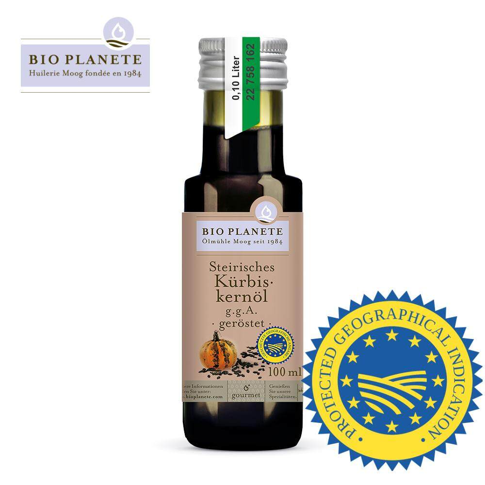 BIO PLANETE Organic Pumpkin Seed oil Styrian PGI certified 100ml