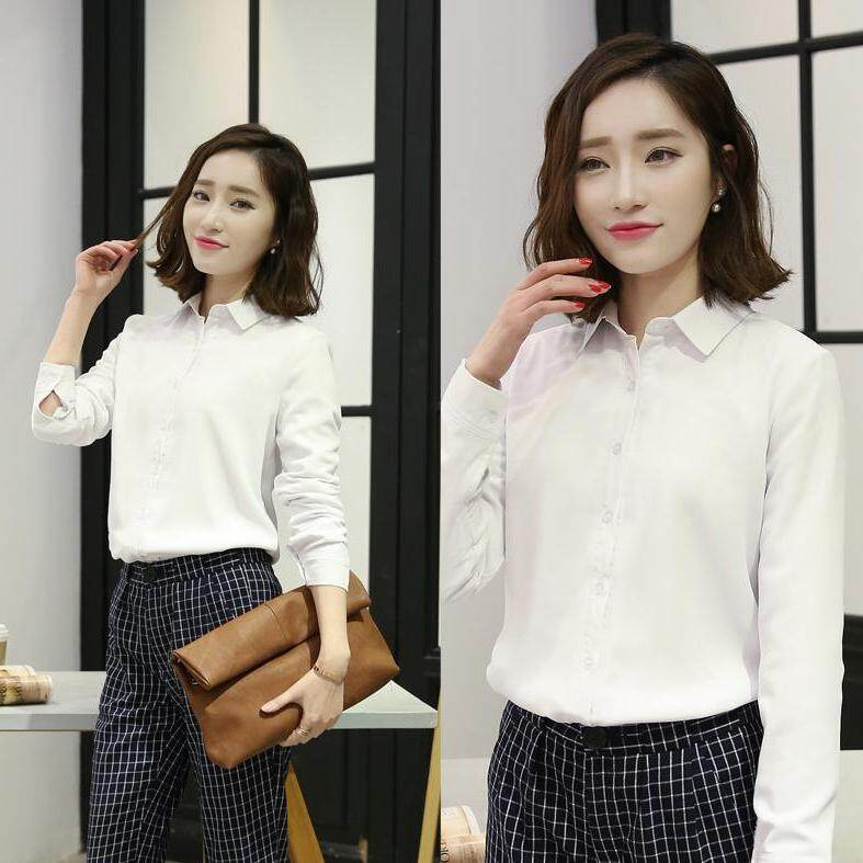 (Pre Order14 Days JYS Fashion Korean Style Women OL Top Collection-5177437col517-7437--White -S