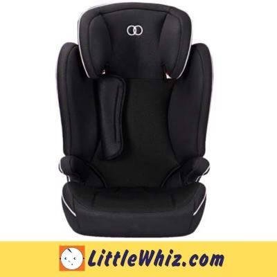 Koopers: Snug+ Booster Car Seat - BLACK