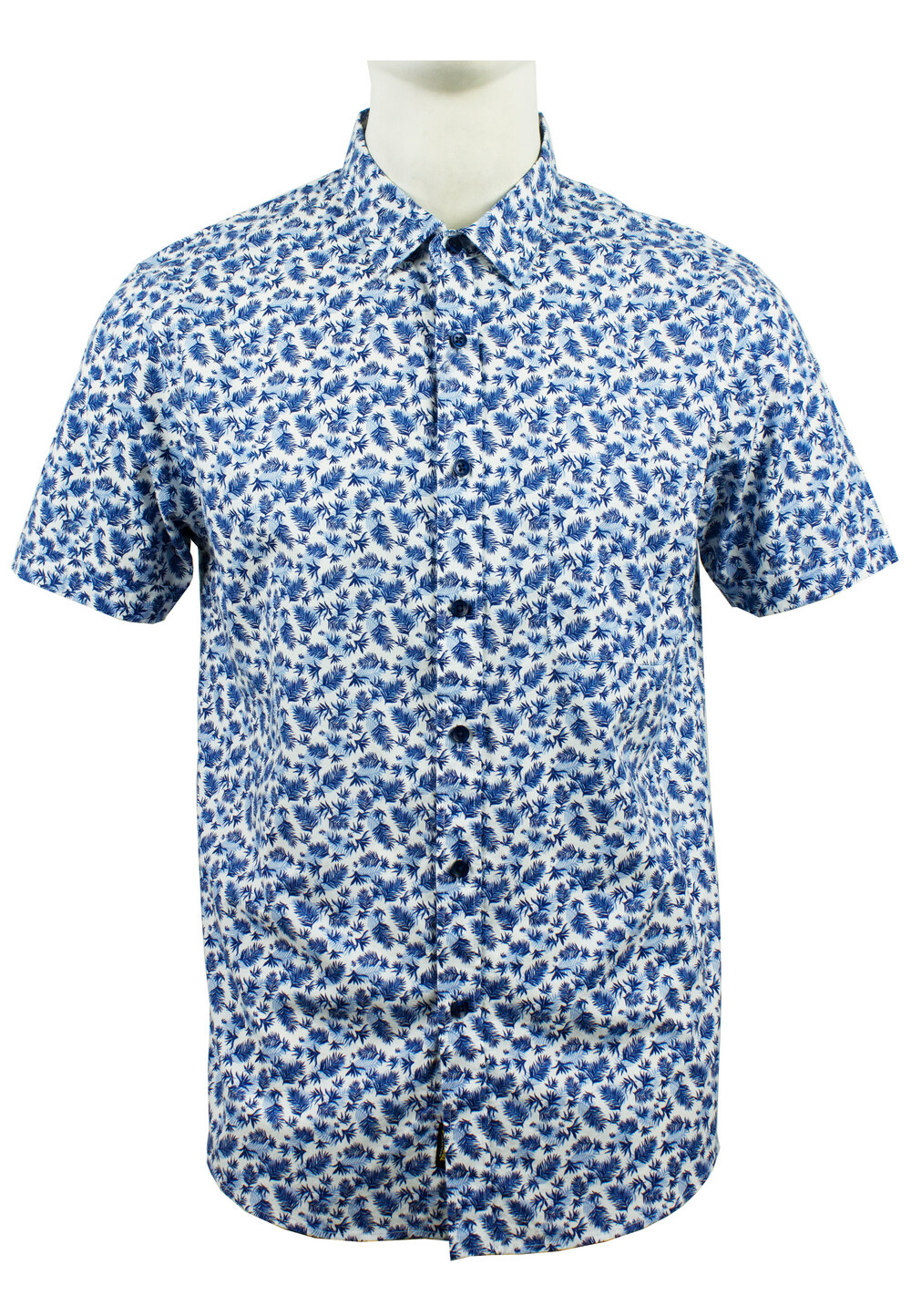 Men's Printed Short Sleeve Shirt 883