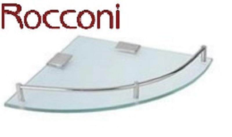ROCCONI CORNER GLASS SHELF