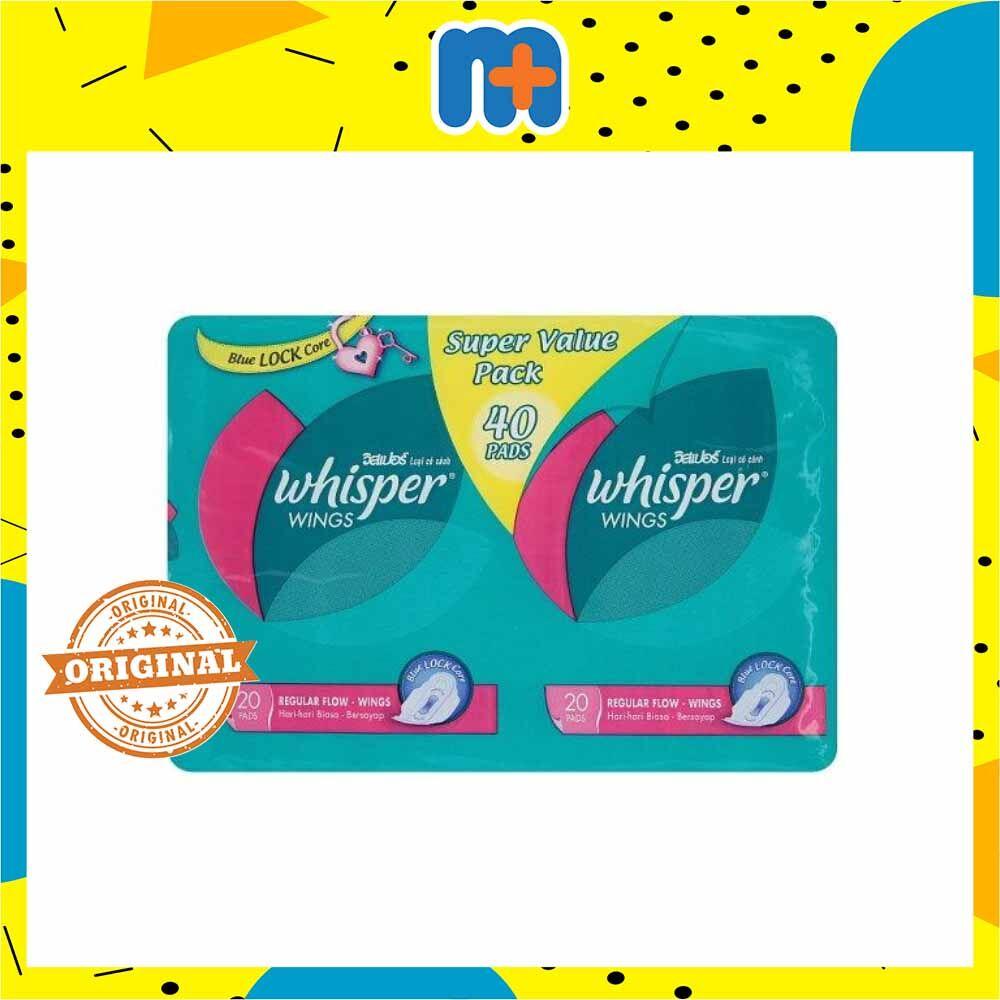[MPLUS] WHISPER REGULAR FLOW - WINGS [20SX2] VALUE PACK