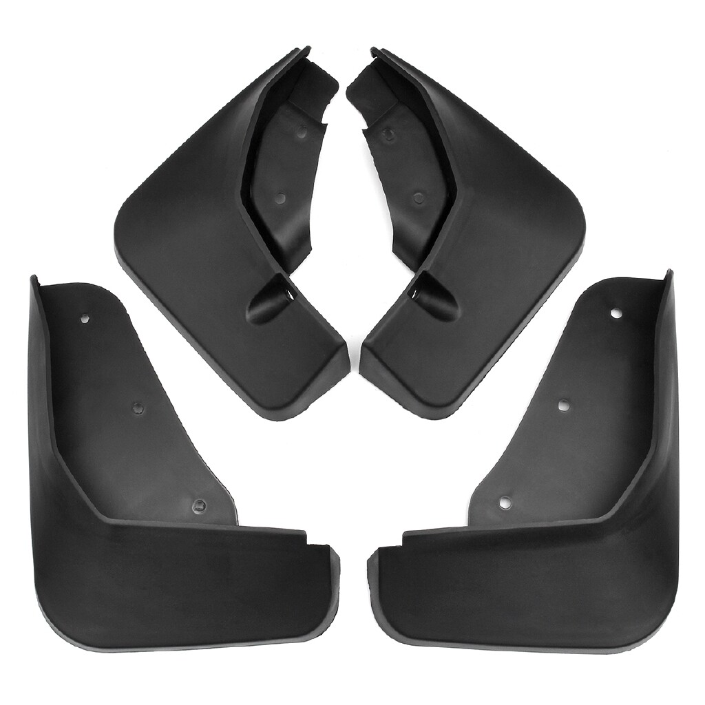 Automotive Tools & Equipment - Car Front Rear Mud Flaps for Fender Flares Splash Guards Mudguard for Ford - Car Replacement Parts