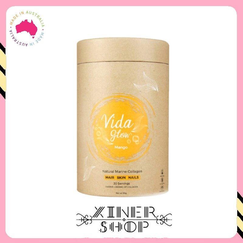 [Import From Australia] Vida Glow Mango Marine Collagen ( 90g )( 30 Sachet )
