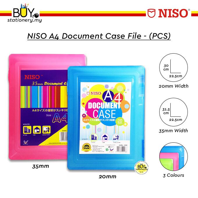 NISO A4 Document Case File - (PCS)
