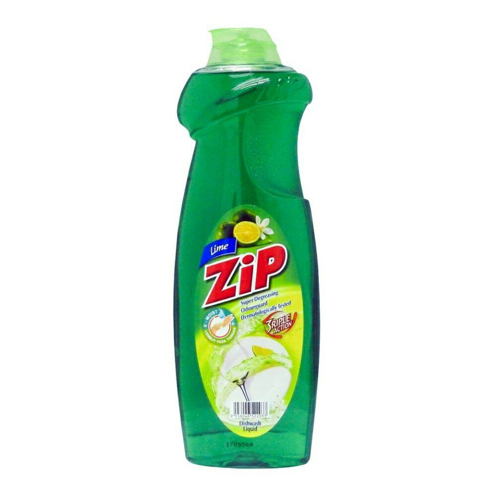 Zip Dishwash Liquid Lime - 900ml