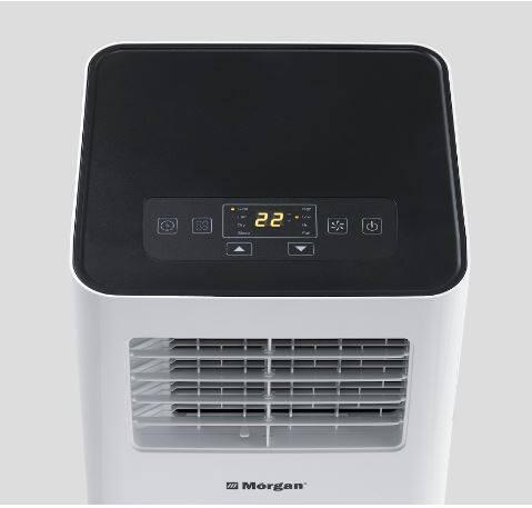 Morgan 1HP Portable Air Cond with Remote Control MAC-093 Lite