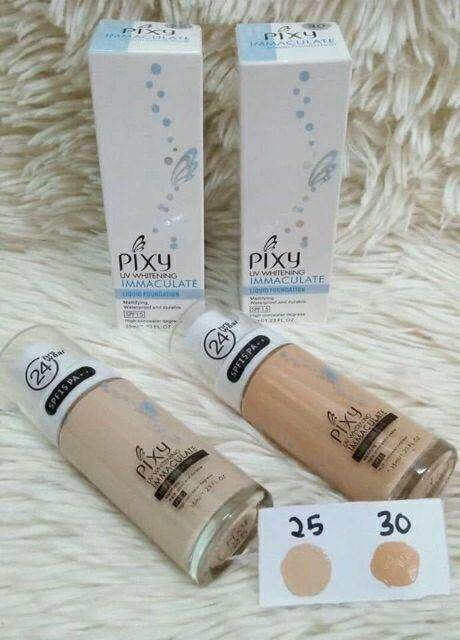 FREE GIFTUV Whitening Liquid Foundation P1XY foundation