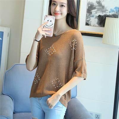 (Pre Order14 Days JYS Fashion Korean Style Women Knit top Collection521-350col521-350--Khakis -S