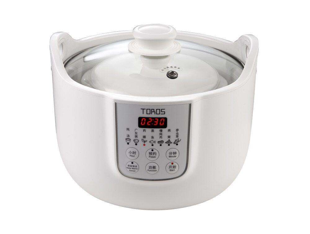 Buffalo Toros Stew Pot Soup Double Boiler KWT02 [白盏玉迷你小炖锅]