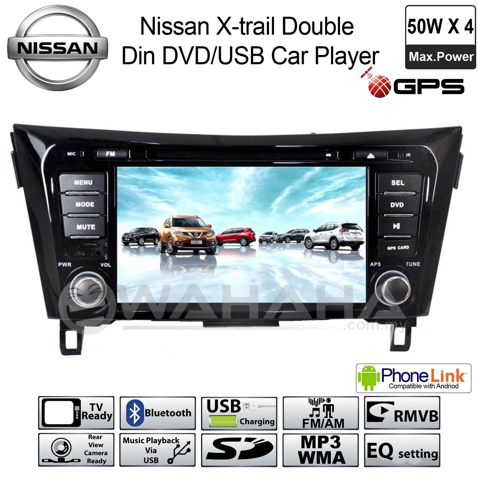 Special Offer Price!!! NISSAN X-TRAIL Plug & Play OEM Double Din DVD USB Bluetooth GPS Car Audio Player