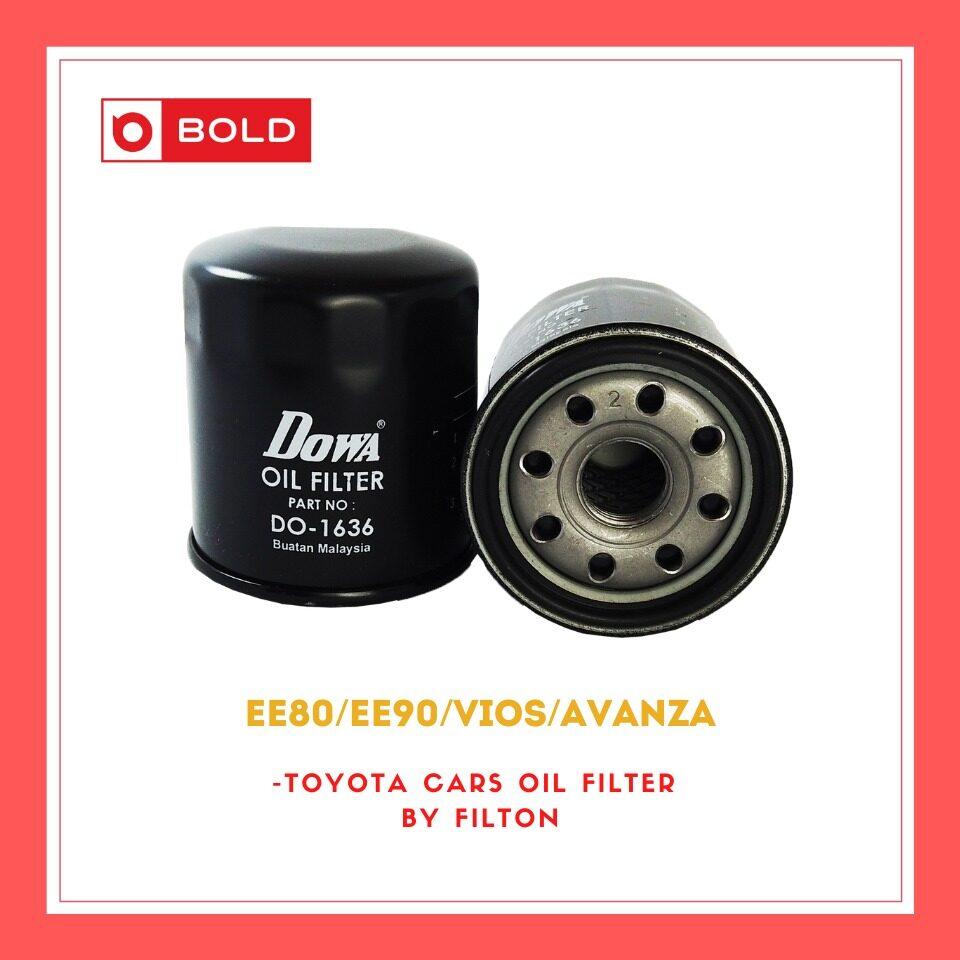 Toyota Cars Oil Filter VIOS / Avanza / EE80 / EE90