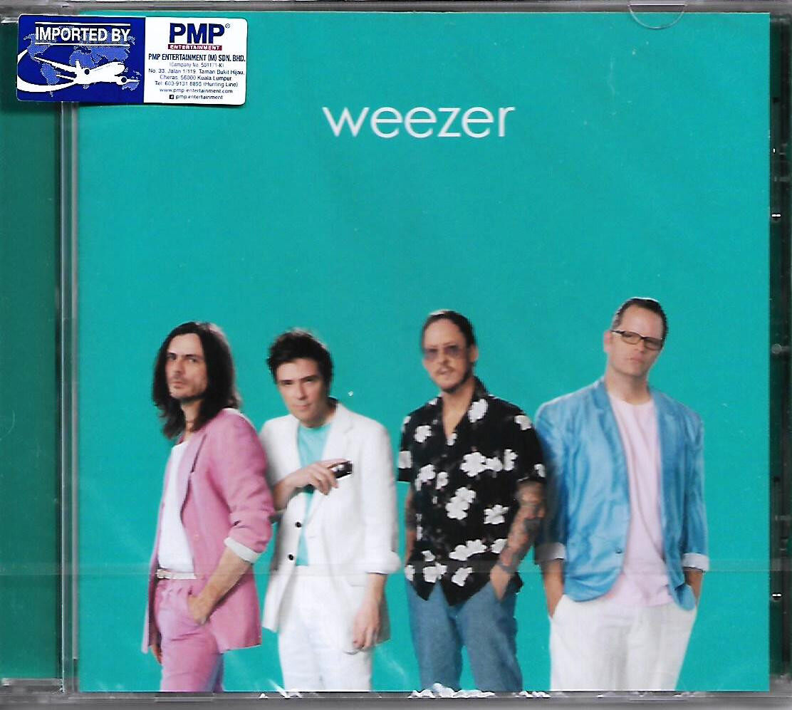 Weezer The Teal Album Imported CD EU Pressed