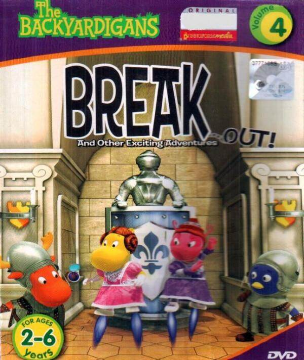 The Backyardigans Break Out And Other Exciting Adventures Vol.4 DVD