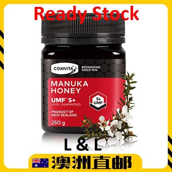 [Ready Stock EXP : 06/2022yr ] Comvita Manuka Honey UMF 5+ ( 250g ) (Made In Australia)