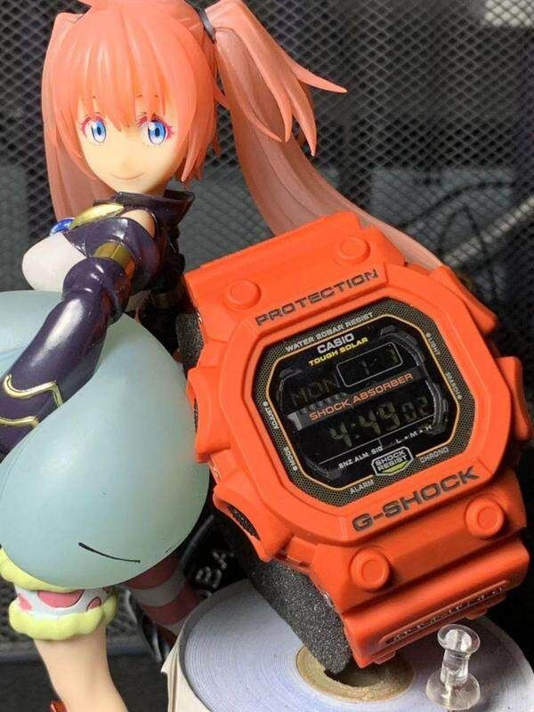 Full Set_Casio_G-Shock_King Stop Watch Function Alarm & World Time With Genuine Gift Box For Men & Women Batter Then Picture Good Quality Sprot Design Shock Resistant 200m Water Resistant Ready Stock