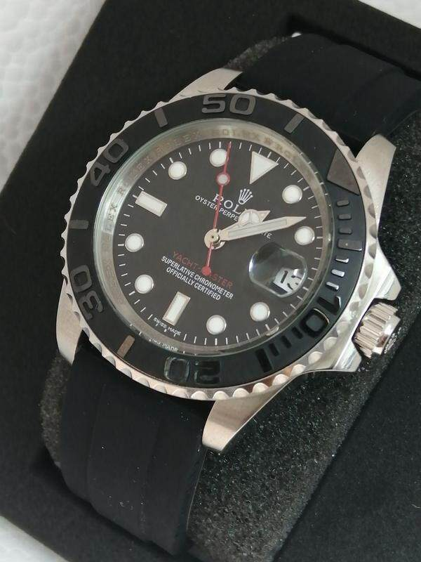 ROLEX_PERPERTUAL DATE YACHTMASTER FULLY AUTO 100% SAPPHIRE CRYSTAL