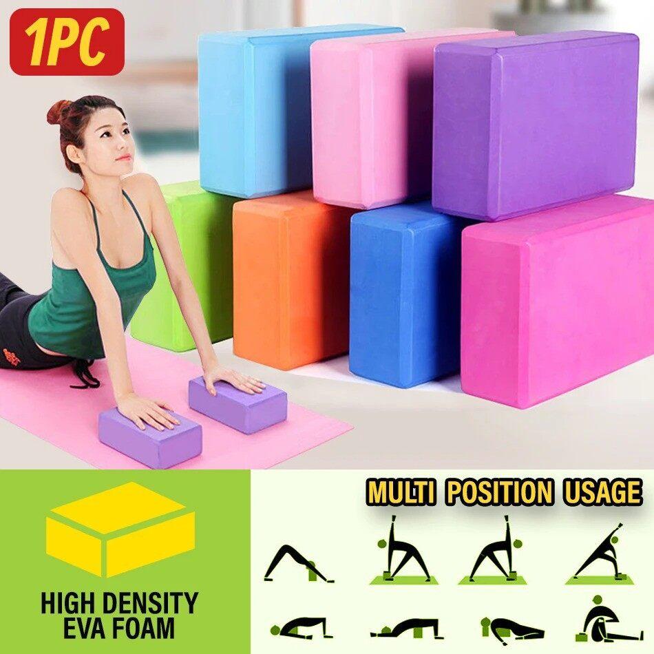 Nuevo High Density EVA Yoga Block Fitness Exercise Posture Brick