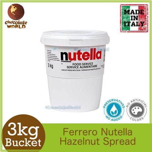 Nutella Ferrero Hazelnut Spread 3kg Food Service (Made In Australia)