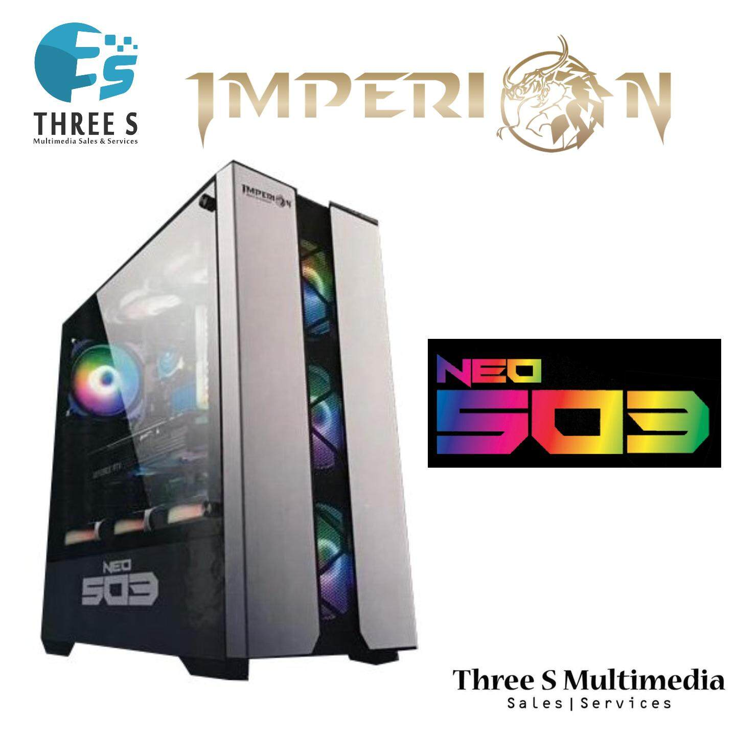 IMPERON NEO 503 COMPUTER GAMING CASE RGB LIGHT