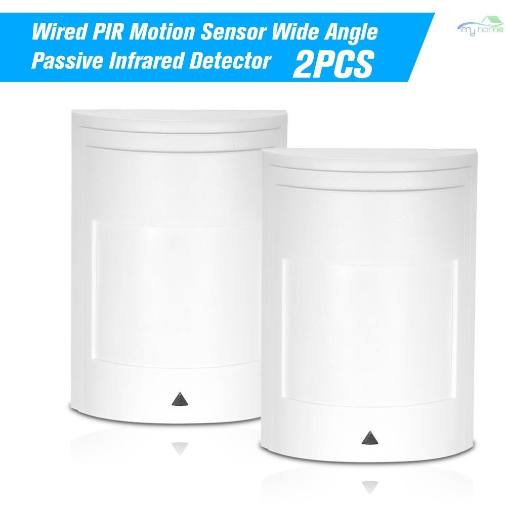 Sensors & Alarms - 2 PIECE(s) Wired PIR Motion Sensor Wide Angle Passive Infrared Detector For Home Burglar Security Alarm - 2 PIECE(s) / 1 PIECE(s)