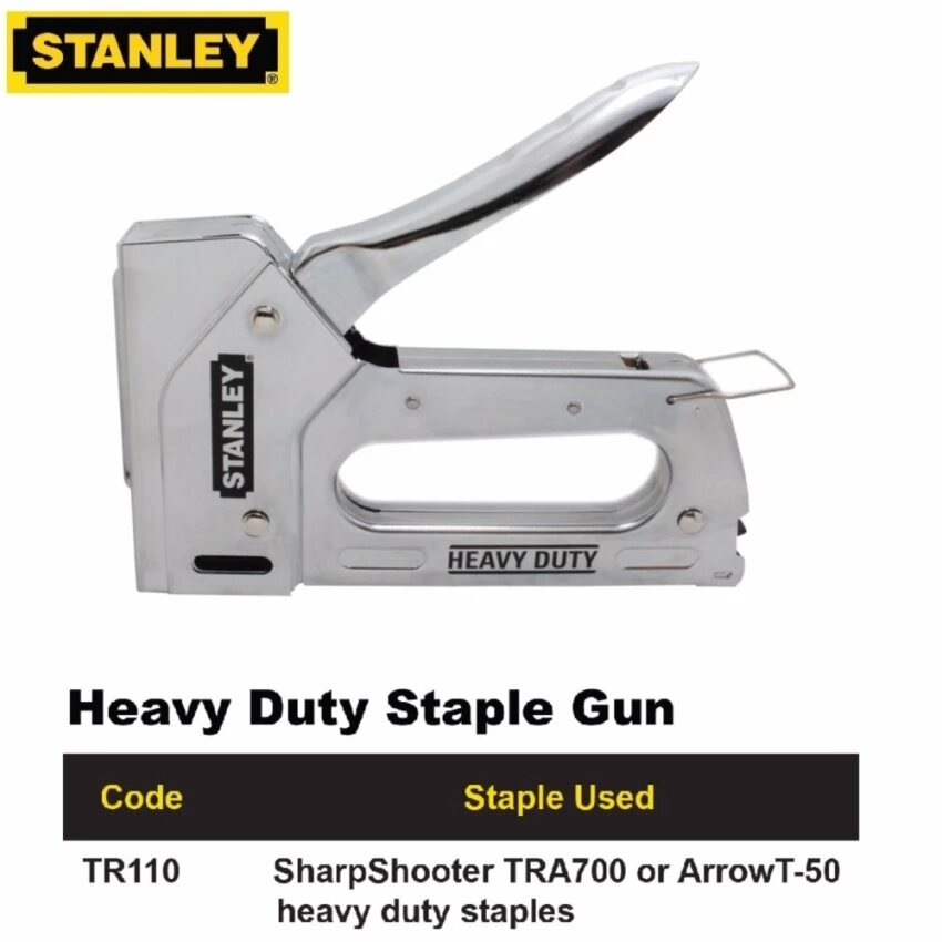 Stanley Light Duty Staple Gun TR110