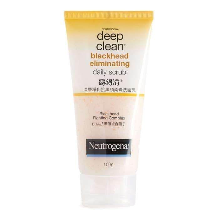 Neutrogena Deep Clean Blackhead Eliminating Daily Scrub 100g