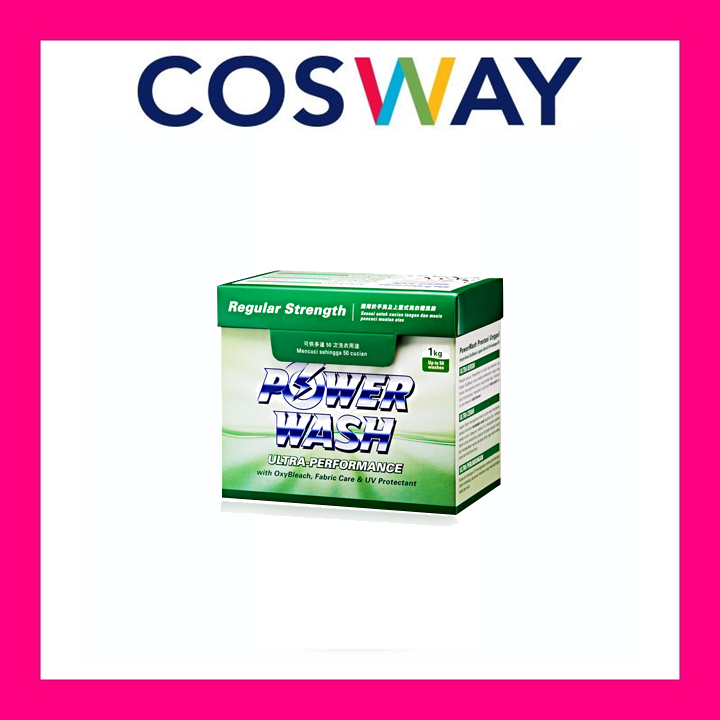 [Ready Stock]Cosway PowerWash Ultra Regular Strength 1KG
