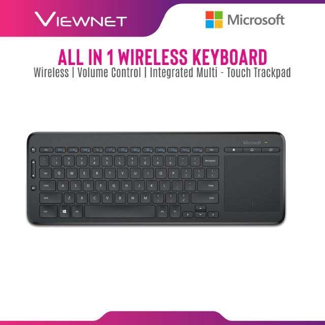 Keyboard Microsoft Wireless All-In-One (N9Z-00028)