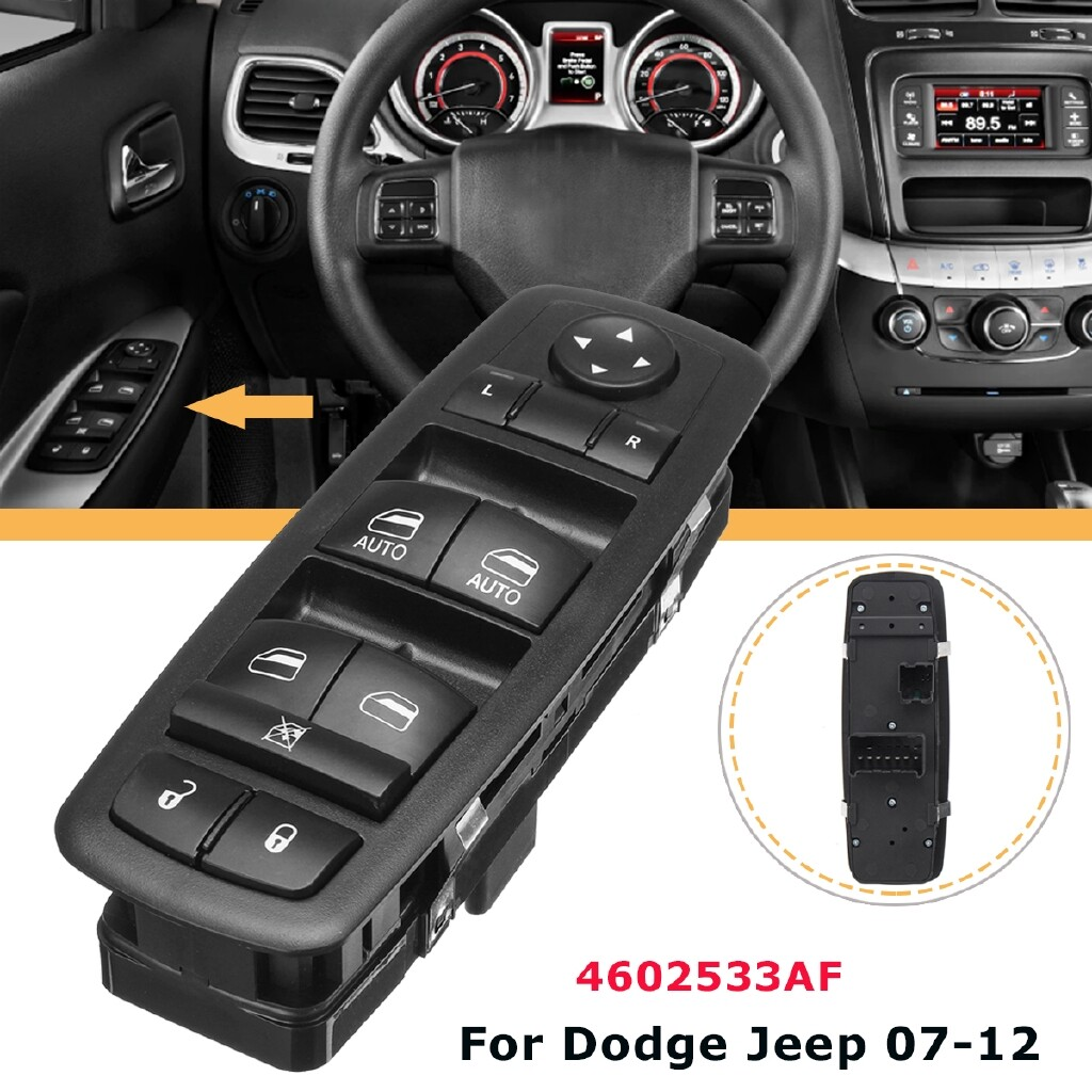 Car Electronics - Front Left Driver Power Window Switch For Dodge Nitro Jeep Liberty 4602533AF - Automotive