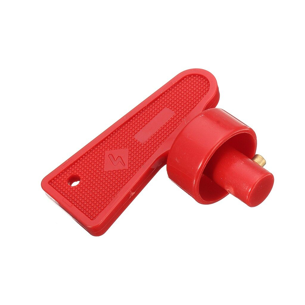 Batteries - 2X RED BATTERY CUT OFF KILL ISOLATOR SWITCH SPARE KEYS FIA BOAT MARINE AUTO - Car Replacement Parts
