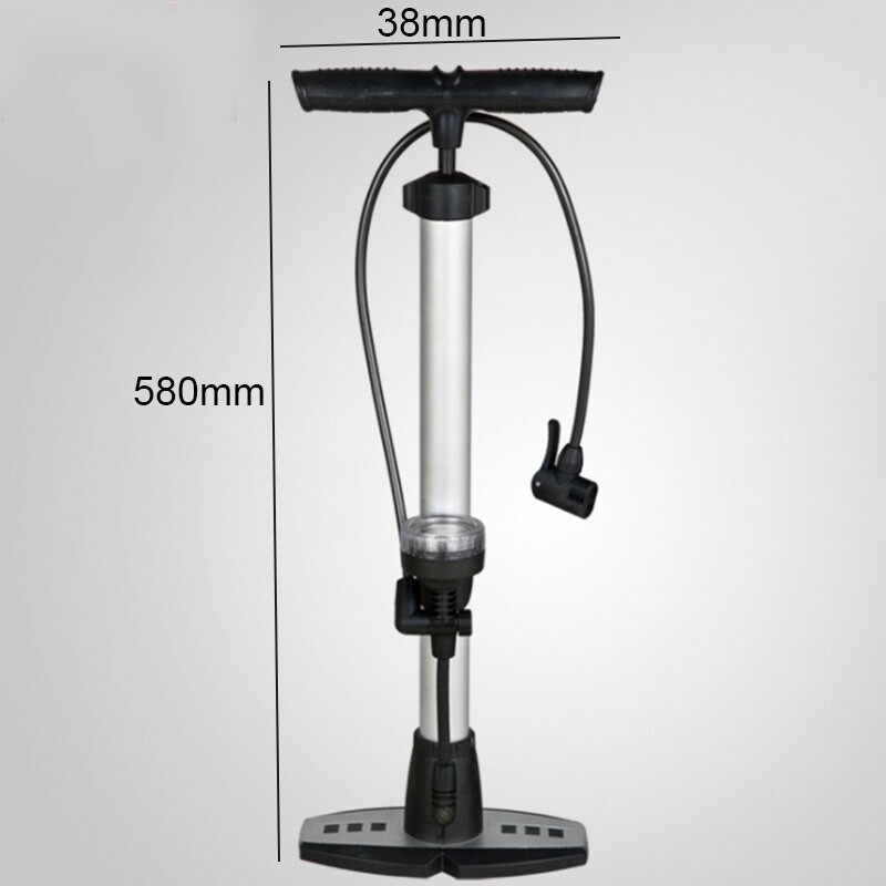 Parts & Components - AUDEW PORTABLE Bicycle Bike Tire MINI Air Floor Pump With Gauge High Pressure - Cycling