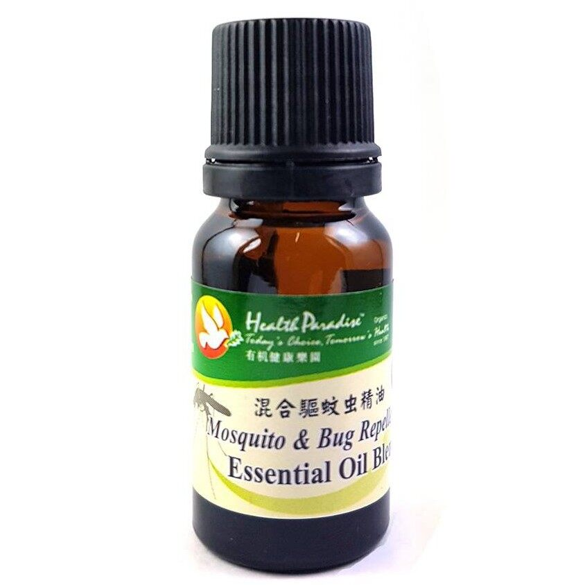 Health Paradise Mosquito and Bug Repellent Essential Oil Blend 10ml