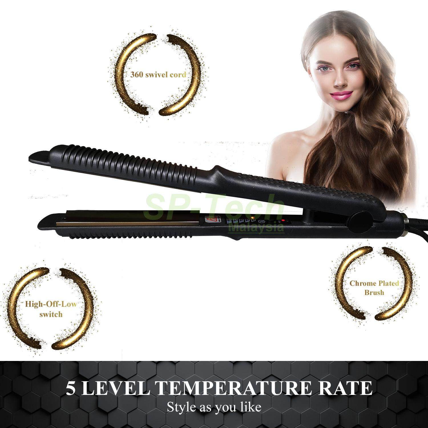 PROFESSIONAL HAIR TOOLS HAIR STRAIGHTER
